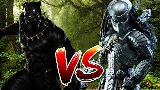 Black Panther VS Predator | BATTLE ARENA