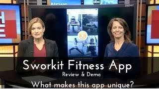 Sworkit Exercise & Fitness App to appear on Shark Tank.  What makes it unique? Review & Demo