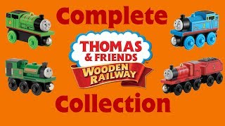 Complete Thomas Wooden Railway Collection - 2018 Edition