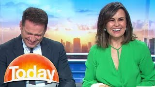 Hosts lose it over 93-year-old