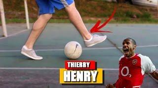 APRENDA DRIBLES PARA HUMILHAR NO FUTSAL: Drible do Thierry Henry | TUTORIAL