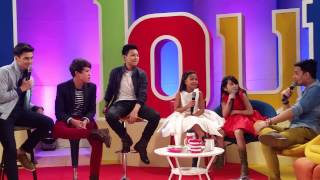 The Voice Kids Top 4 shares new projects on ASAP Chillout