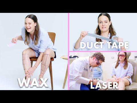 Every Method of Leg Hair Removal 21 Methods Allure