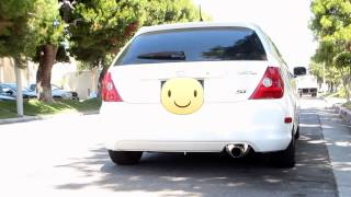 2002 Civic Si EP3 OBX Twinloop Exhaust