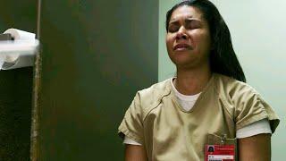 maria ruiz gets her head shoved in toilet (orange is the new black ) s6e5