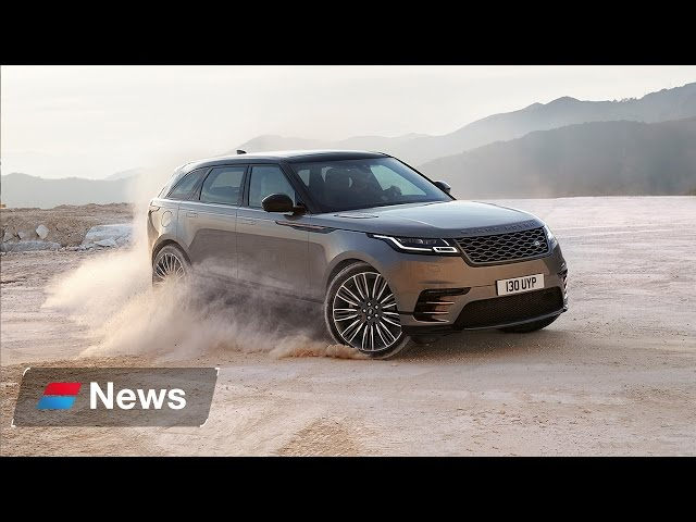 Range Rover Velar 2017 first look