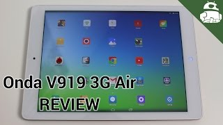 Onda V919 3G Air Review! Dual Booting Android / Windows Tablet!