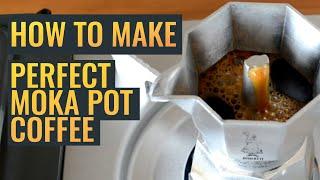 How to Make PERFECT Moka Pot Coffee Every Time