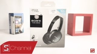 Schannel - Mở hộp tai nghe Sony Noise Canceling MDR-NC8 - CellphoneS