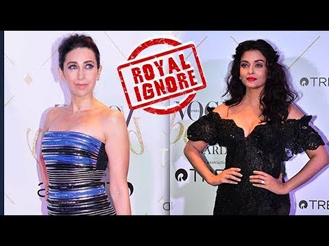 Xxx Mp4 Aishwarya Rai And Karisma Kapoor IGNORE Each Other At Vogue Beauty Awards 3gp Sex