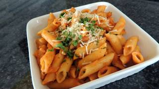 Red Sauce Pasta Recipe - Restaurant Style - Vegan Recipe by (HUMA IN THE KITCHEN)