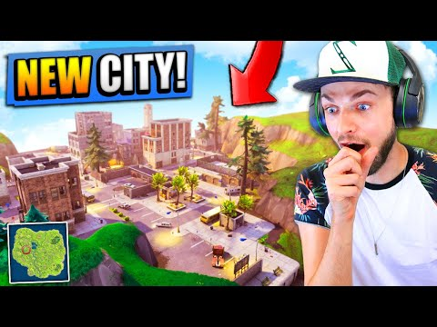 Xxx Mp4 NEW CITY FOUND In Fortnite Battle Royale HUGE UPDATE 3gp Sex