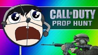 Call of Duty 4: Prop Hunt Funny Moments - Nogla