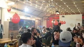 أحمد كولجان سهرة رأس السنة في مطعم تشي تشي وصلة جزرواي