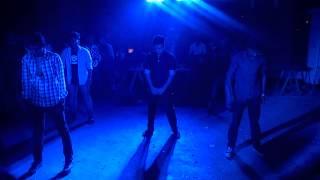 Parody dance at shakrain in old Dhaka, Bangladesh