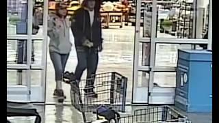 surveillance video of Walmart