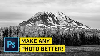10 PHOTOSHOP Tricks to Improve ANY Photo