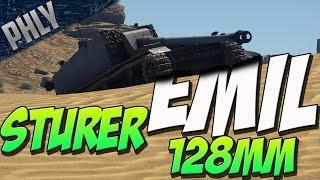 HUGE DEPRESSION - Sturer EMIL KEG LAUNCHER (War Thunder Tanks Gameplay)