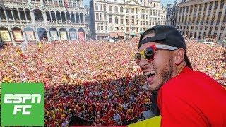 Eden Hazard leads Belgium's incredible 2018 World Cup celebrations | ESPN FC