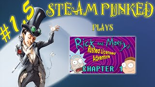 Rick and Morty's Rushed Licensed Adventure - Chapter 1 Achievement Guide - Steam Punked