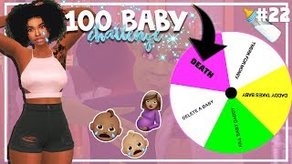 SIMS 4 100 BABY CHALLENGE with A TWIST #22 *RIP 💔*