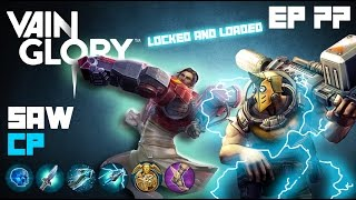Vainglory - Episode 77: Crystal Shock Saw |CP| Lane Gameplay