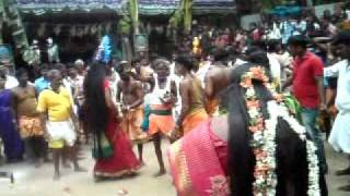 BHADRA  KALI DANCE DURING A TEMPLE FUNCTION IN CHENNAI