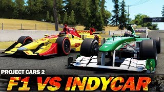 Project Cars 2: Formula 1 vs Indycar! Which is faster?