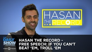 Hasan the Record - Free Speech: If You Can