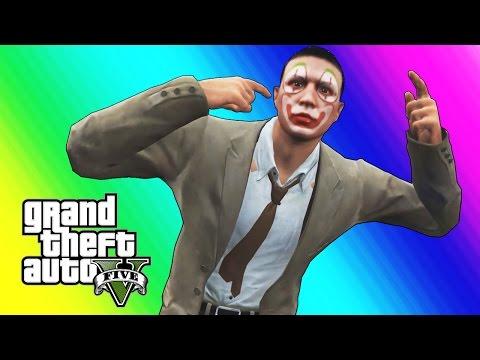 GTA 5 Online Funny Moments Clown Salesman Rage