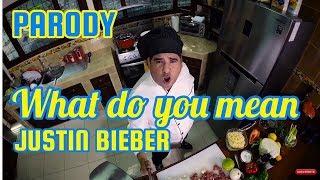Justin Bieber - What do you mean? PARODY | Hice chow mein - JR INN