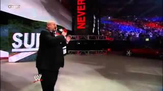 CM Punk WWE Survivor Series 2011 Entrance with Howard Finkel