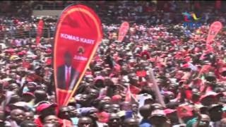 Sole Narok gubernatorial Jubilee candidate launches re-election bid