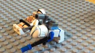 Lego Star Wars Echo's Death in Lego (720p)