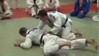 Newaza Stomach Turnover - German National Judo Team