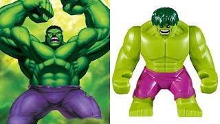 LEGO MARVEL VS DC - Minifigures VS Movies & Games etc.