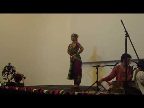 Bharathanatyam GOURANGI MARZULO 3ª Parte