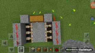 How to make lava trap in mcpe 0. 15. 0