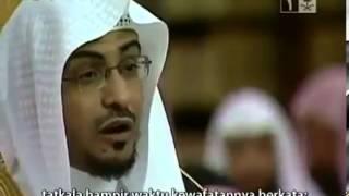 Menentramkan Hati (Nasihat Syekh Saleh al Maghamsi)