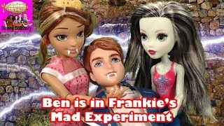 Vampire Ben is Captured for Mad Science Experiment-Part 21-Vampires Moana Descendants Disney