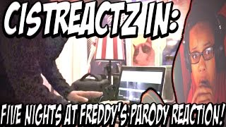 Five Nights At Freddy's Parody REACTION | TO INFINITY AND DEATH!