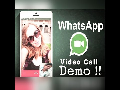 Whatsapp Video Call Demo & Trick!!