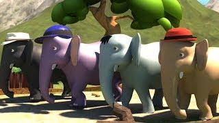 Ek Mota Hathi Hindi Rhyme | Poems In Hindi | एक मोटा हाथी | Kids TV India | Hindi Nursery Rhymes