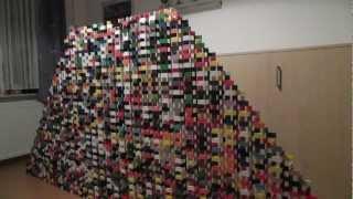 Big Domino 2D-Pyramid (81 layers)