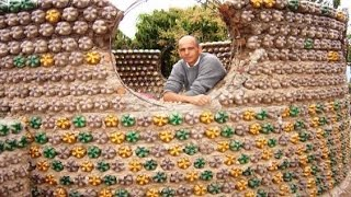 Plastic Bottles | Plastic Bottle House | Plastic Bottle Greenhouse | 17 | Ideas