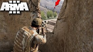 THE GREATEST SNIPE IN HISTORY!!! 1,000,000 Miles Must See (ARMA 3 Gameplay)