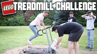 Lego Treadmill Challenge (Running On Lego) *Blood Alert*   WheresMyChallenge