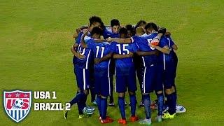 U-23 MNT vs. Brazil: Highlights - Nov. 11, 2015