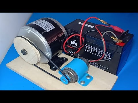 Free energy generator 2019 How to make free energy from DC motor wow amazing idea 2019