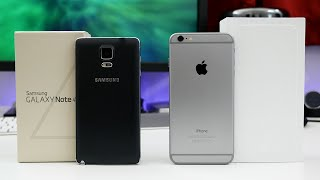 Apple iPhone 6 Plus vs Samsung Galaxy Note 4 - Ultimate Comparison!
